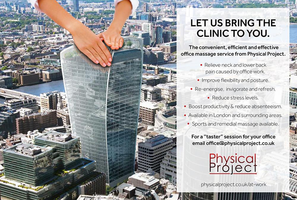 Workplace Massage London