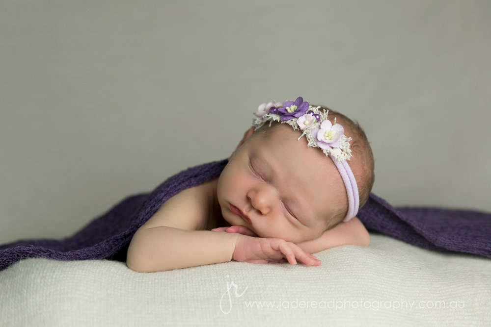 Newborn photographer Gold Coast Baby Photography Upper Coomera Children's photos Jade Read Photography