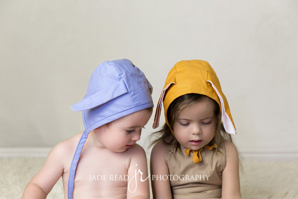 topknot girl bonnets easter bunny product photo shoot commercial photography gold coast