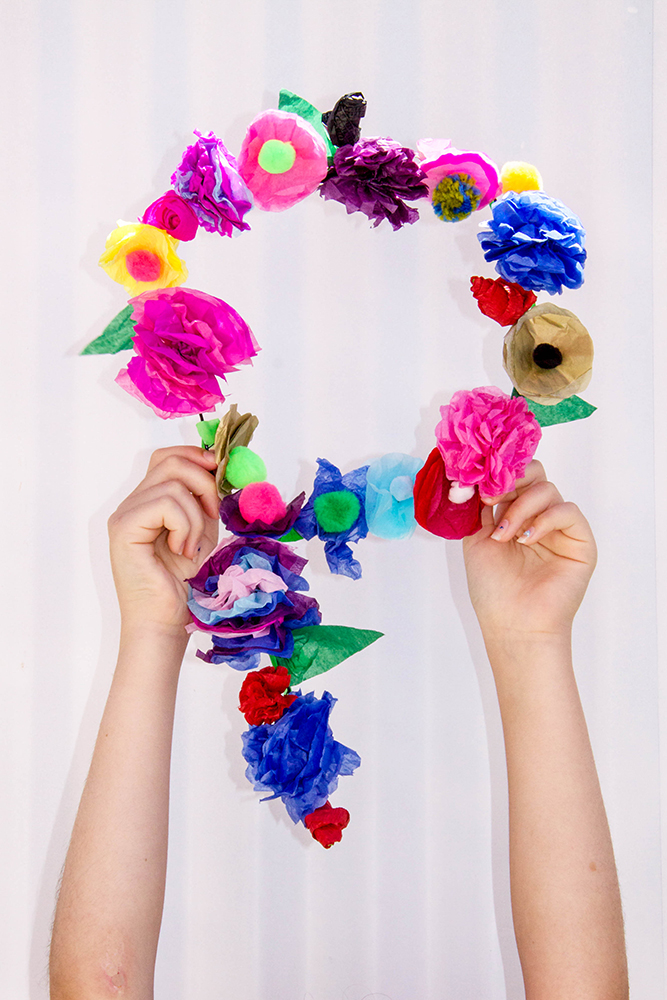 Paper Flower Letters!