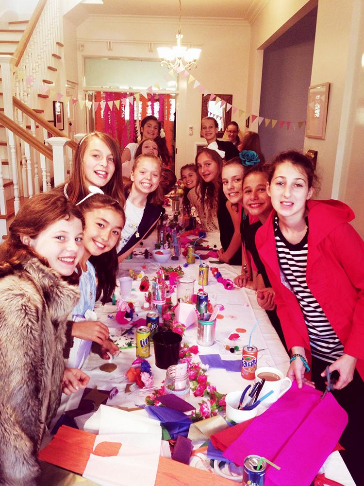 12th Birthday Party fun!