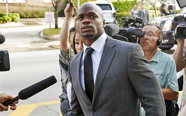 Source URL:  http://www.cbssports.com/nfl/writer/jason-la-canfora/24818834/adrian-peterson-suspended-why-the-nfl-dropped-the-hammer-on-the-vikings-star