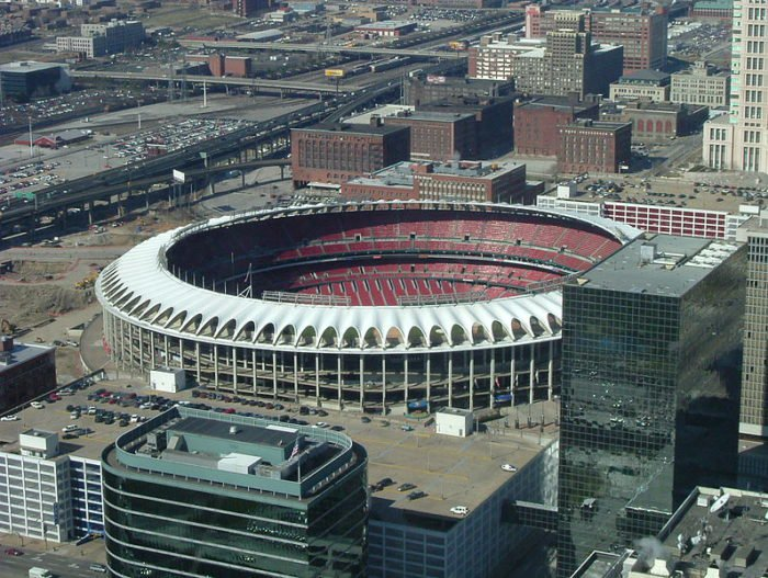 """Old"" Busch Stadium.  Source"