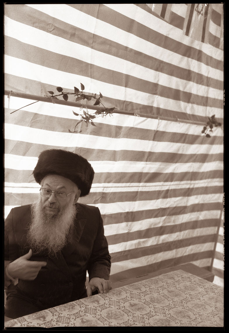 Rabbi Noah in the Sukkah