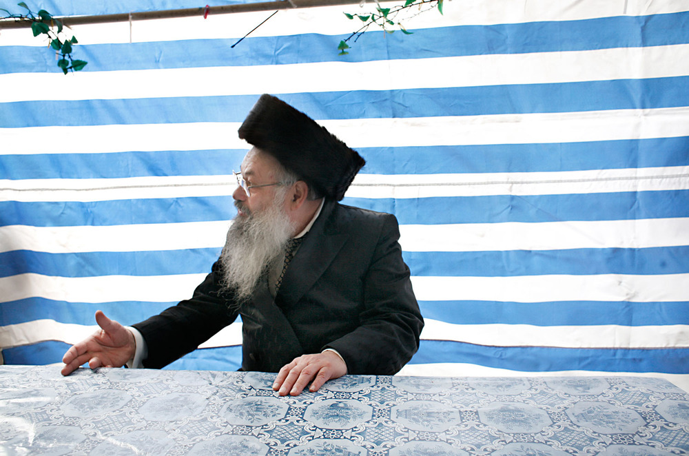 Rabbi Noah in Sukkah