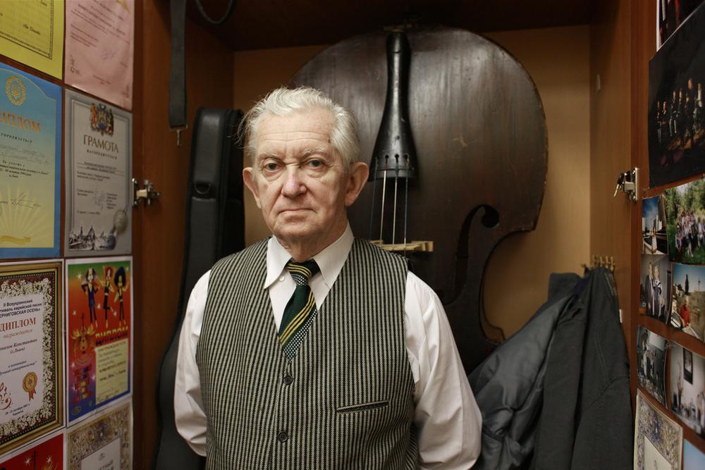 Slavek, Klezmer Musician