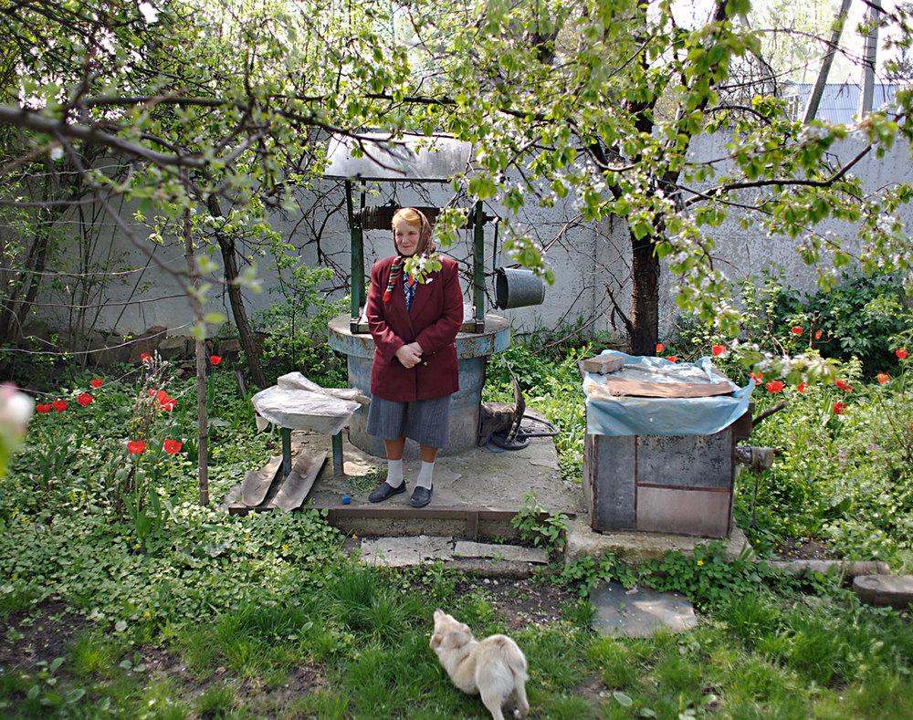 Yulia In Her Garden