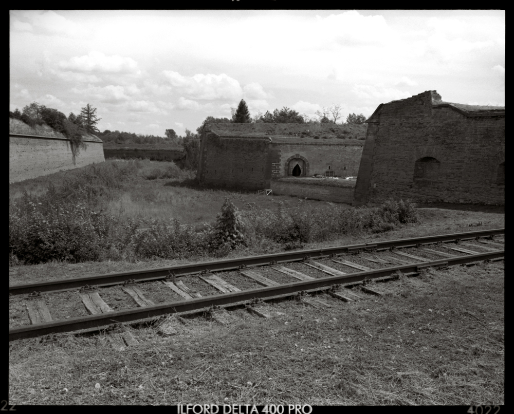 Terezin, The Railway