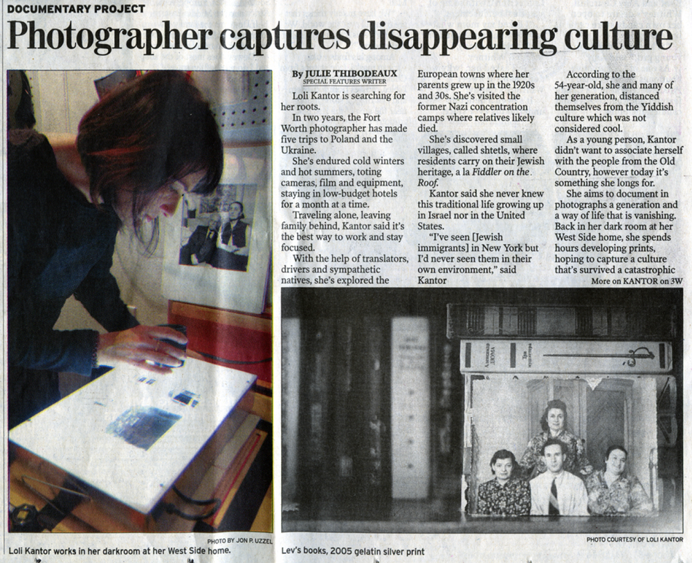 Fort Worth Star Telegram Julie Thibodeaux 2006