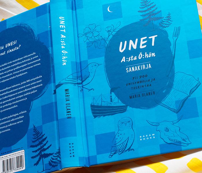 Unet A:sta Ö:hön (Basam Books): kannen graafinen suunnittelu ja kuvitukset.