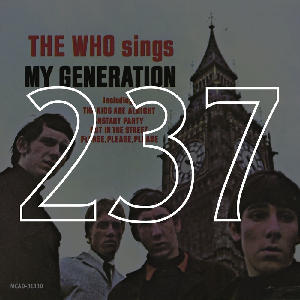 "#237: The Who, ""Sings My Generation"" (1965)"