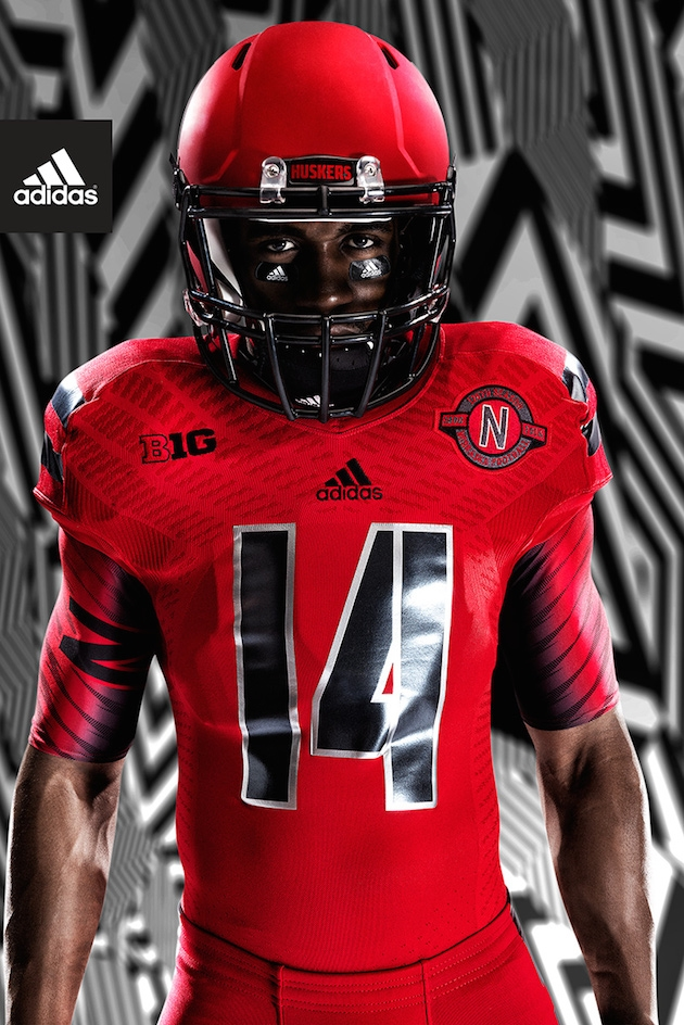 Alternate uniforms the Huskers will wear Saturday against Illinois.