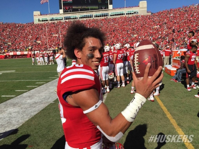 Kenny Bell with his record breaking ball.