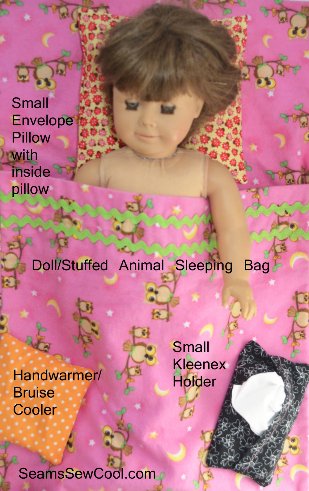 A Sampling of the Seam Sew Cool Sewing Projects in the 100 Series