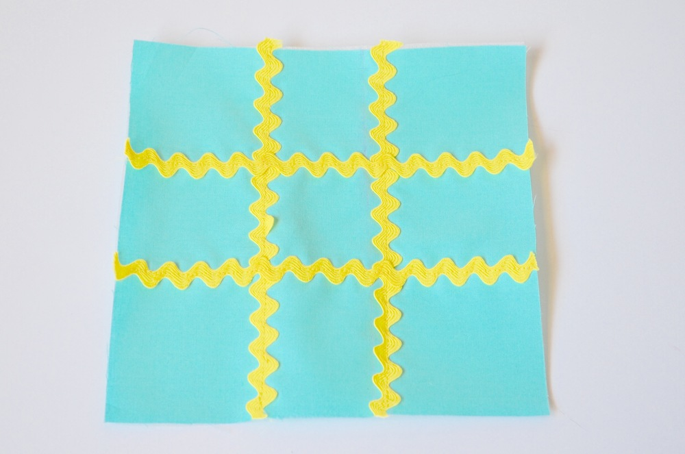 12. Turn right side out and use a point turner or eraser end of a pencil to push out the corners so they are square. Hand sew opening shut.