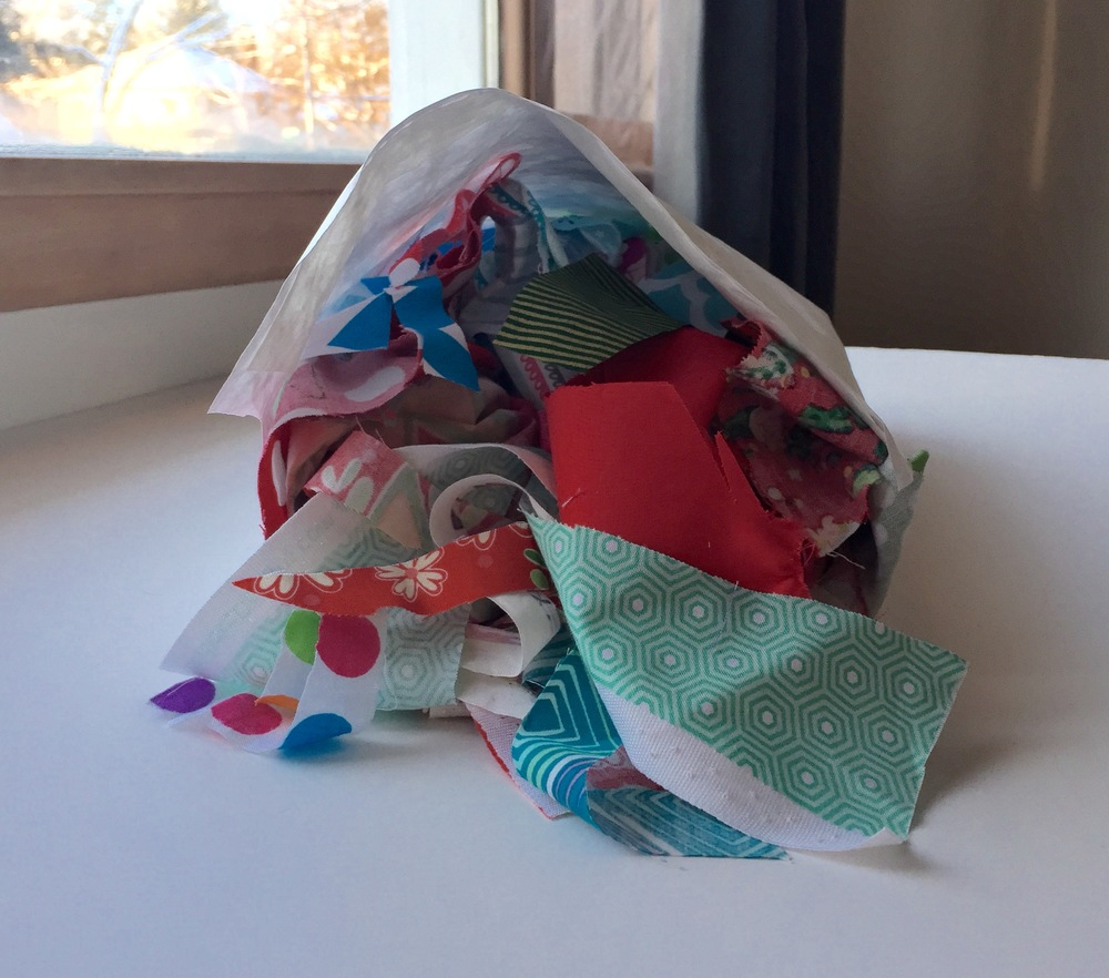 FABRIC SCRAP GIVEAWAY