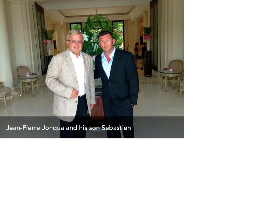Jean-Pierre Jonqua and Sébastien