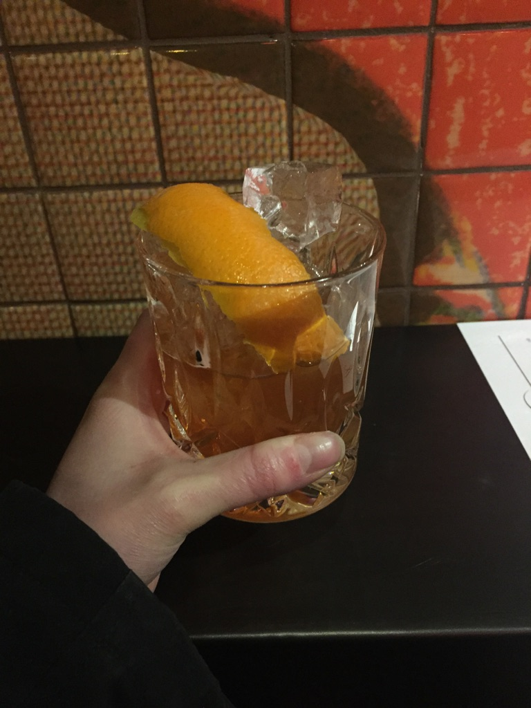 Old fashioned on tap