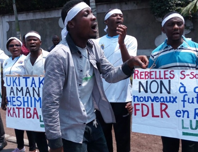 Pro-democracy activists in Congo. Credit: LUCHA