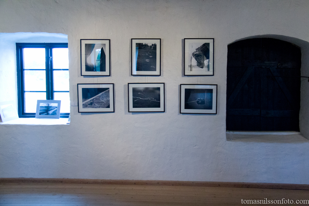 My six black and white prints shown at the Pixel & Korn exhibition in Smygehuk, Sweden