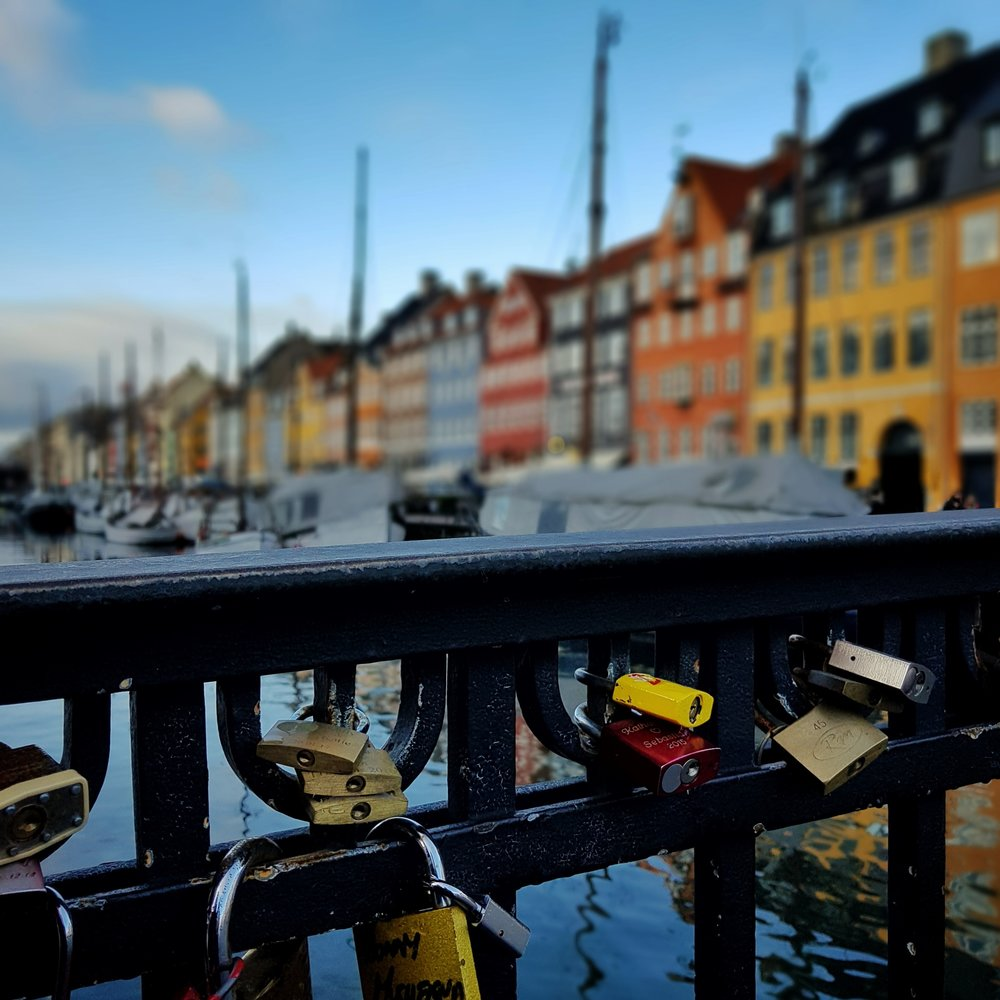 Day 5: January - Love locks in Copenhagen