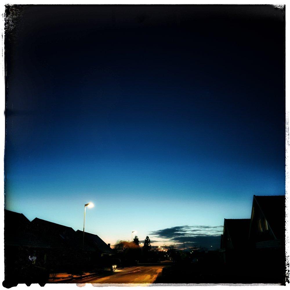 Day 39 - February 8: Last light