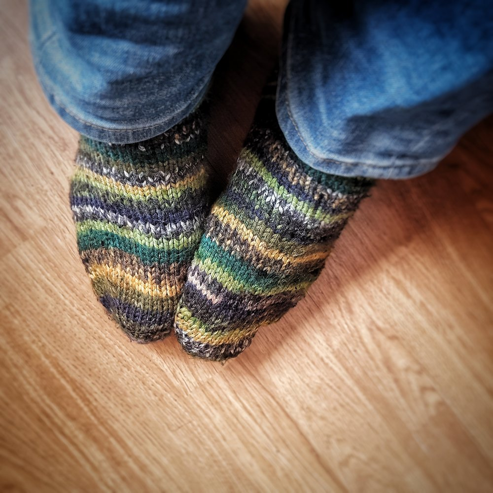 Day 63 - March 4: Sunday Socks