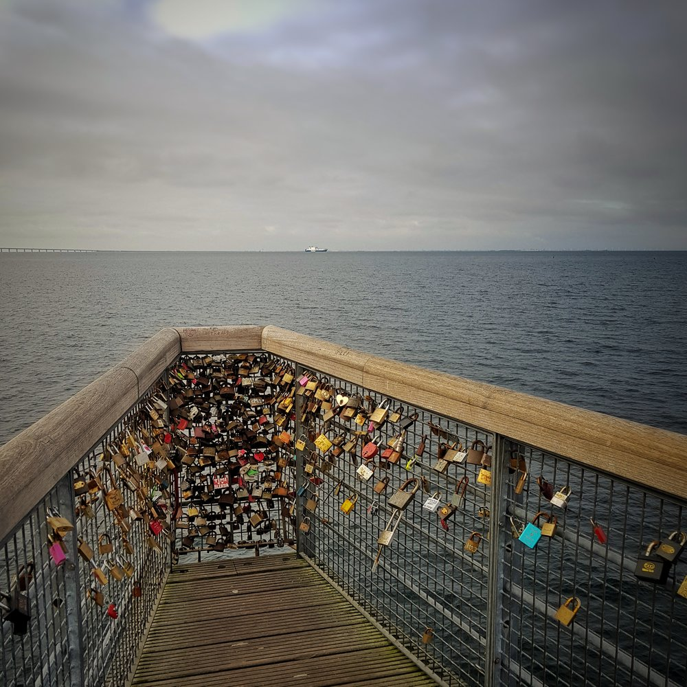 Day 48 - February 17: Love locks in Malmö