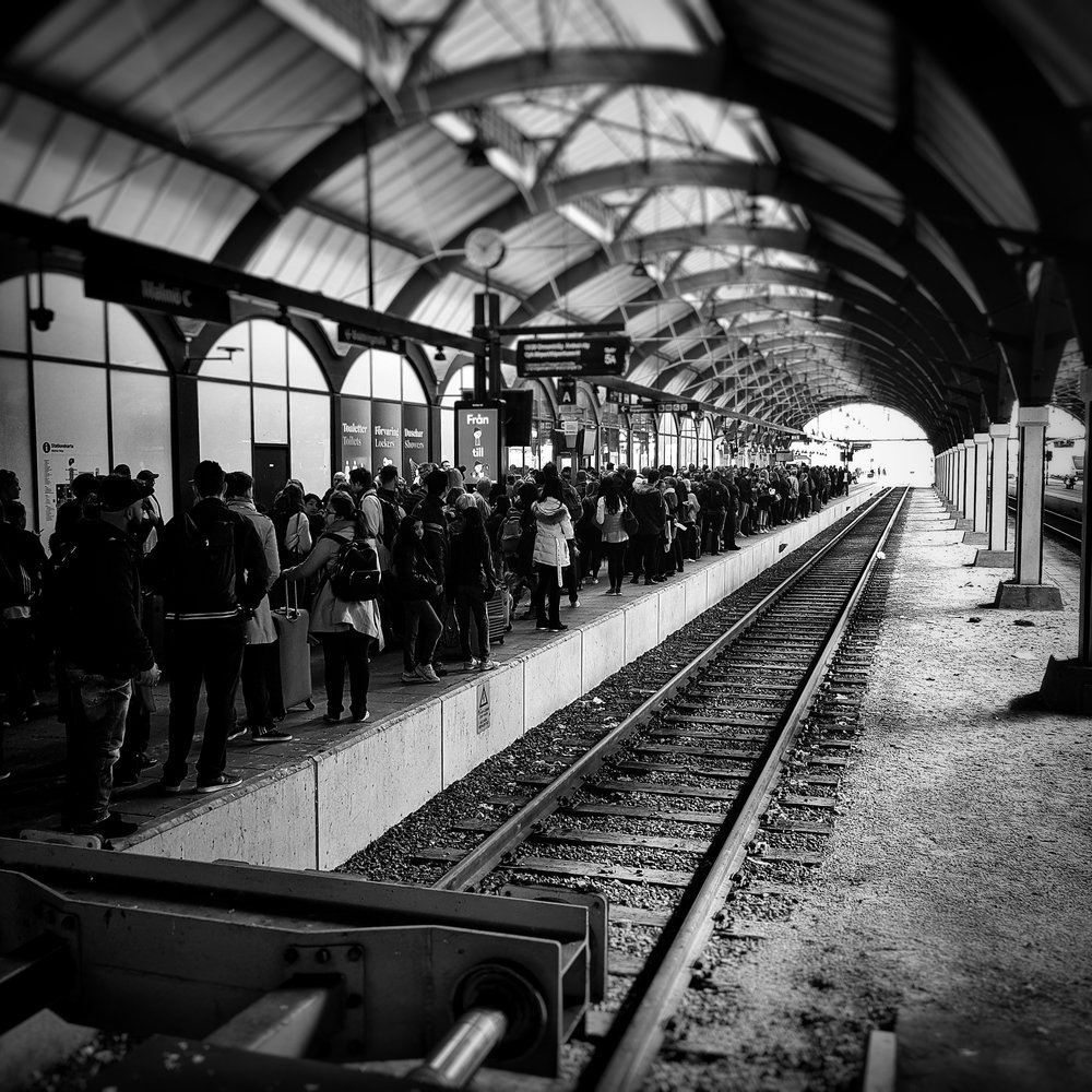 Day 118 - April 28: Train is late