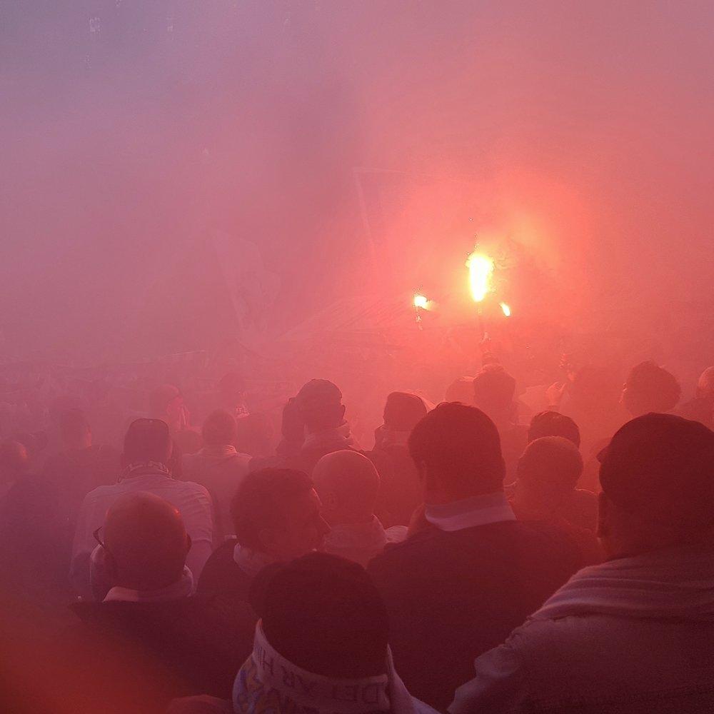 Day 137 - May 17: Flares, Smoke and Idiots (and Soccer)