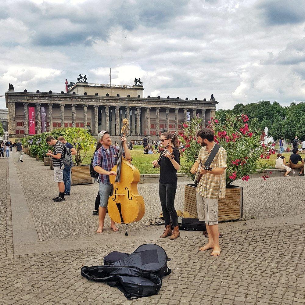Day 174 - June 23: Buskers in Berlin