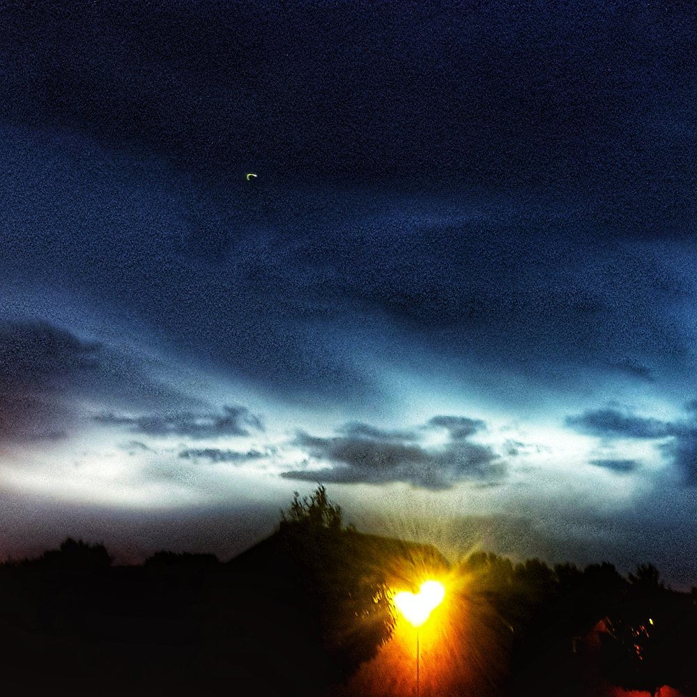 Day 192 - July 11: Illuminated night clouds