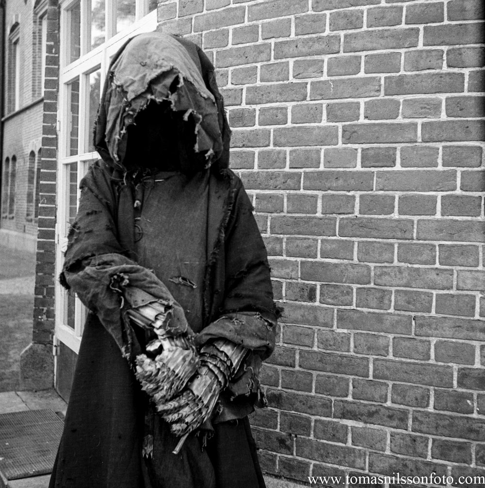 I did not envy this guy for walking around in the Nazgul outfit in the heat!