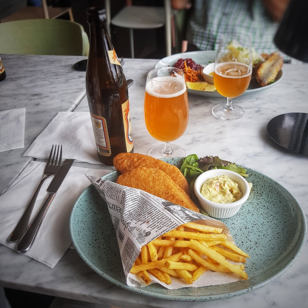 Day 231 - August 19: Fish & Chips on a Sunday