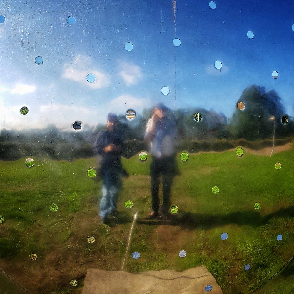 Day 248 - September 5: Selfie in a Sun Sieve