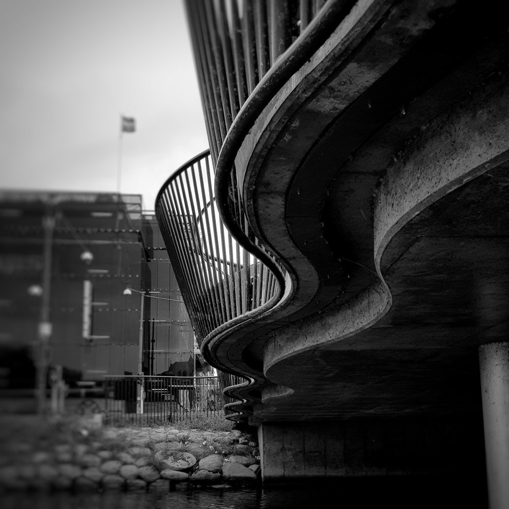 Day 250 - September 7: Squiggly Bridge