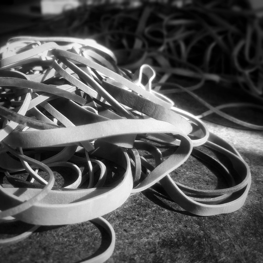 Day 261 - September 18: Rubber bands