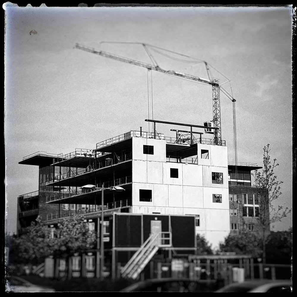 Day 270 - September 27: New digs in the making