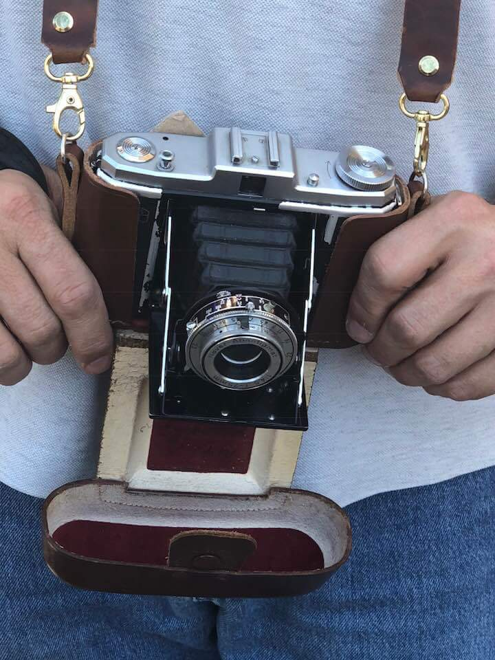 This is NOT the tool I use for my daily picture! :-D It's a pretty cool 1958 camera though that I've used for several of the square format pics in the galleries.