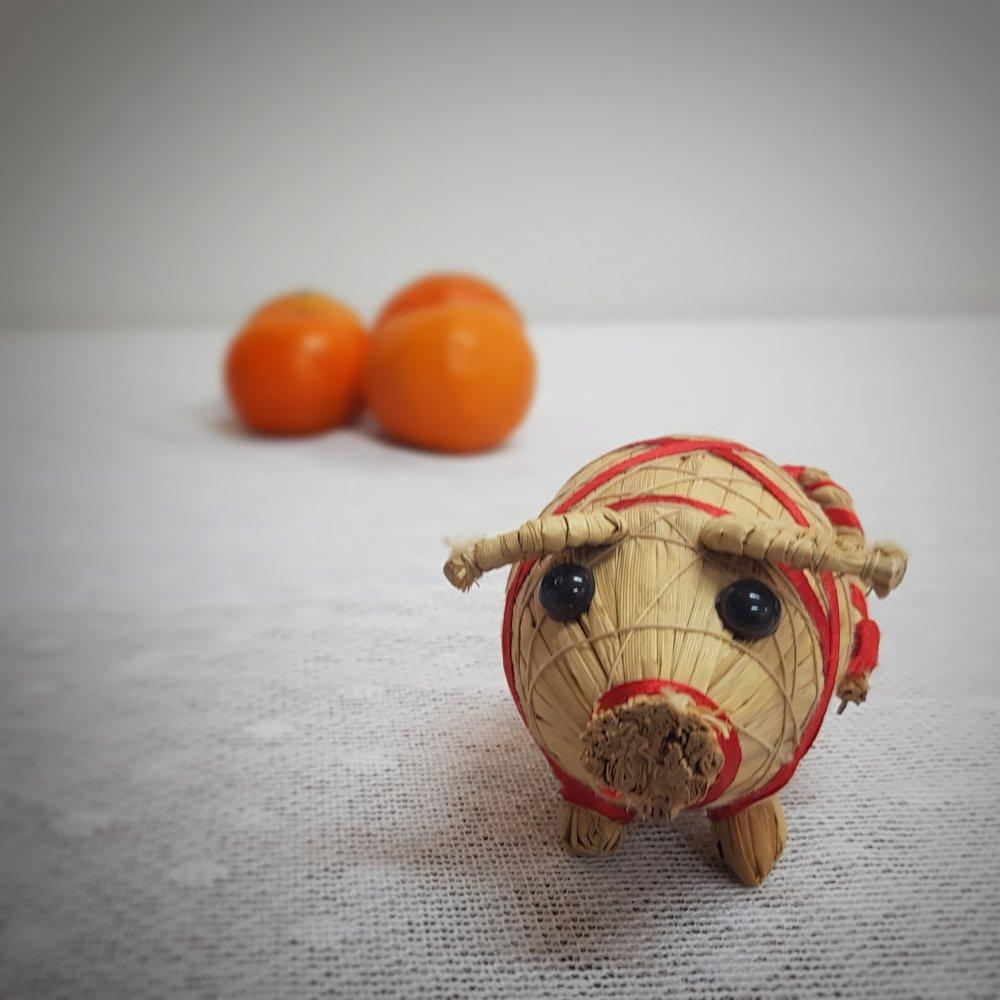 Day 352 - December 18: Seasonal Pig