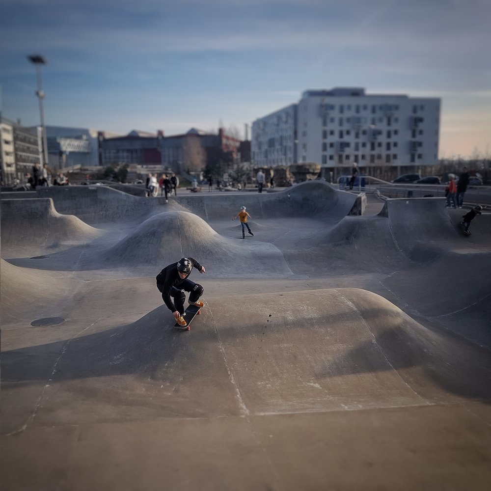 Day 58 - February 27: Spring Skaters