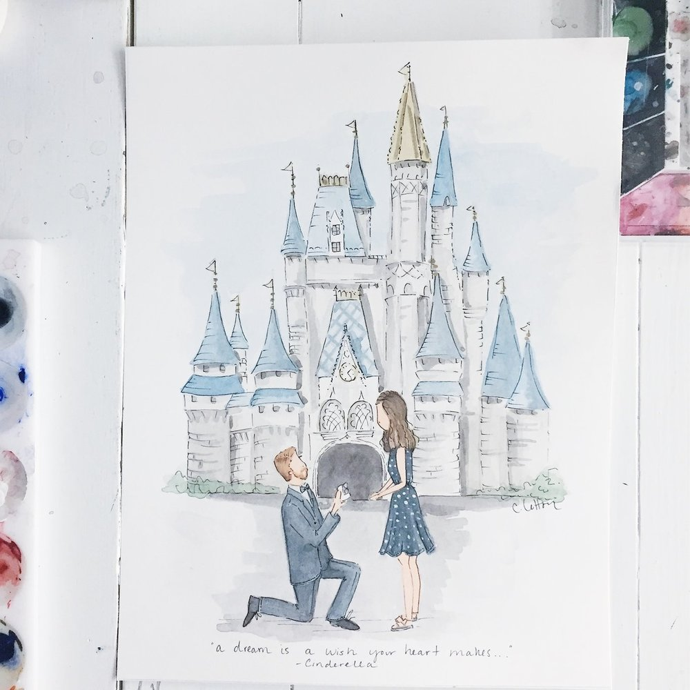 Custom Moment Illustration - $400+Make your most precious moments last a lifetime.