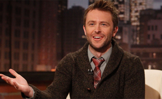 "Chris Hardwick, Host of ""Talking Dead"""