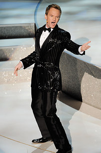 Neil Patrick Harris p erforming during the Academy Awards in 2010.    Photo by  Kevin Winter / Getty Images