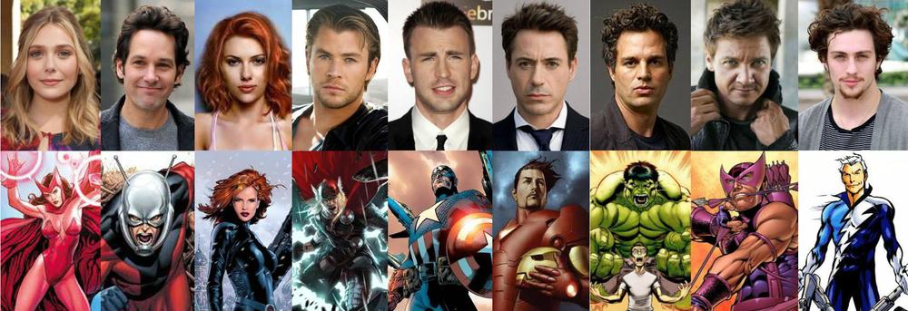 Cast of Avengers 2