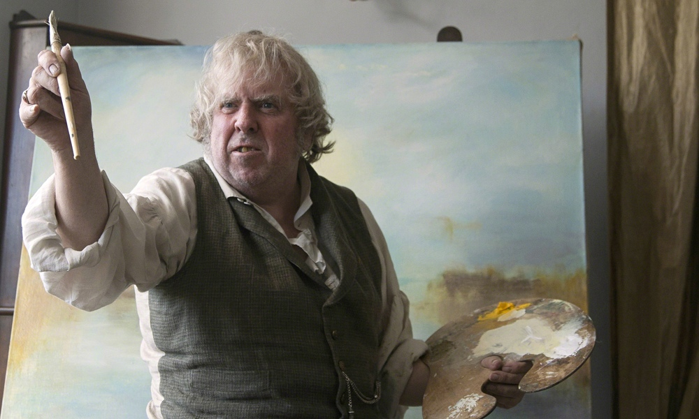 Timothy Spall in, Mr Turner