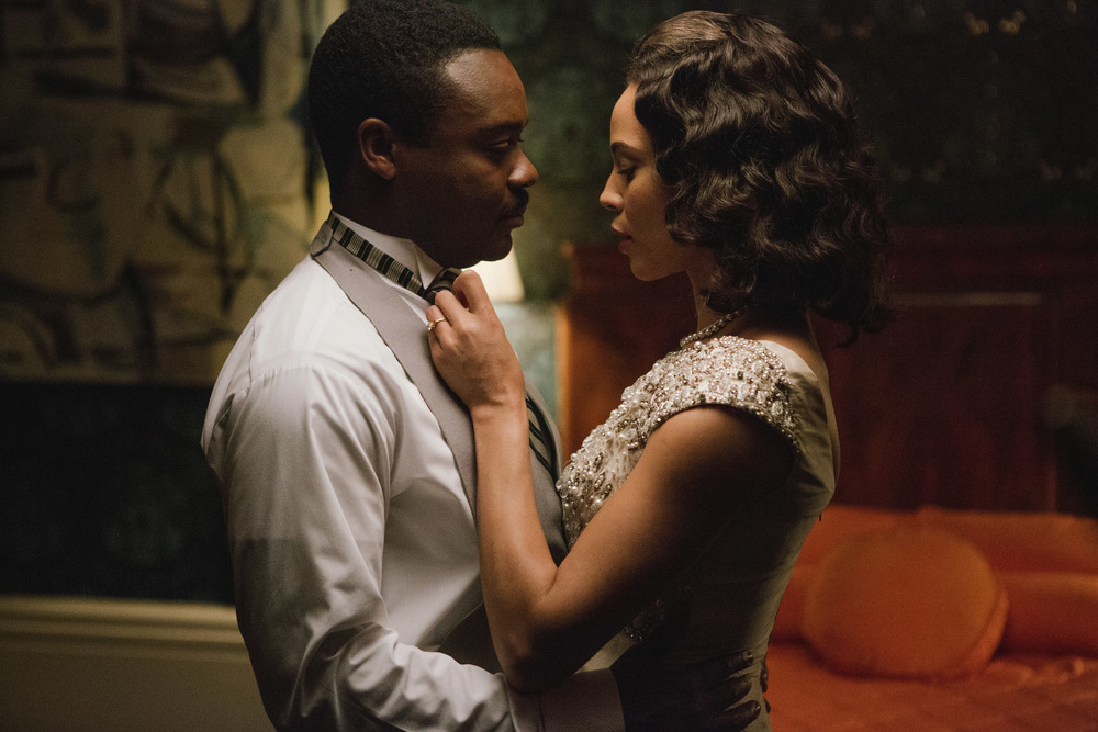 David Oyelowo and Carmen Ejogo in, Selma