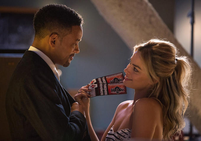 Will Smith and Margot Robbie in, Focus