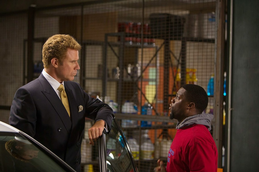 Will Ferrell and Kevin Hart in, Get Hard