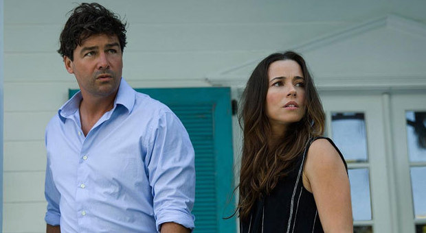 Kyle Chandler and Linda Cardellini in, Bloodline on Netflix